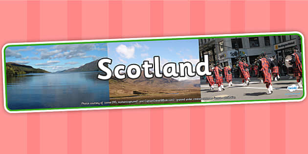 Scotland Photo Display Banner - scotland, photo display banner, display banner, display, banner, photo banner, header, display header, photo header, photo