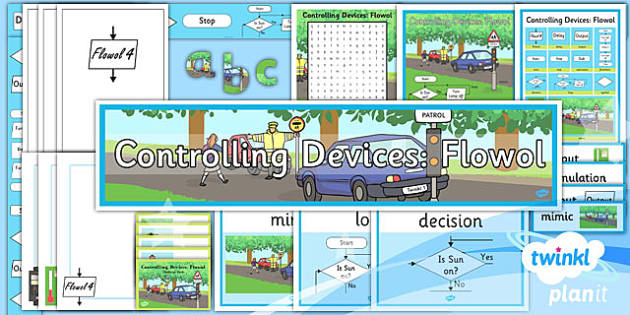 PlanIt - Computing Year 5 - Controlling Devices Flowol Unit Additional Resources