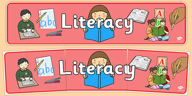 Literacy Sign - Classroom Area Signs, Writing, KS1, Banner, Foundation Stage Area Signs, Classroom labels, Area labels, Area Signs, Classroom Areas, Poster, Display, Areas, Literacy, Writing, CLL