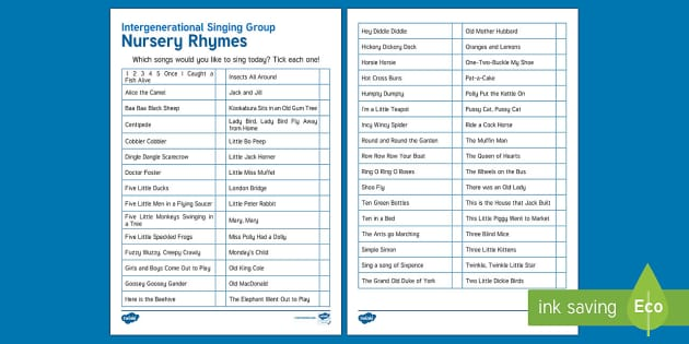 Intergenerational Singing Activity Sheet - Singing, Intergenerational, Tips, Elders, Children, Activity Co-ordinators, Care Homes, Elderly Care