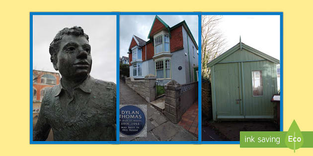 Dylan Thomas Display Photos