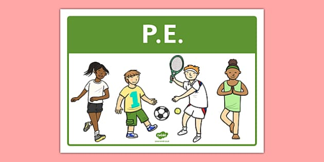PE Classroom Area Sign - gaeilge, roi, irish, area, sign, classroom, display, pe