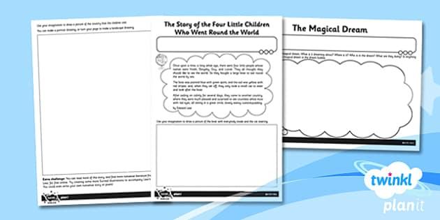 PlanIt - Art KS1 - Miro Unit Home Learning Tasks - planit, art, miro