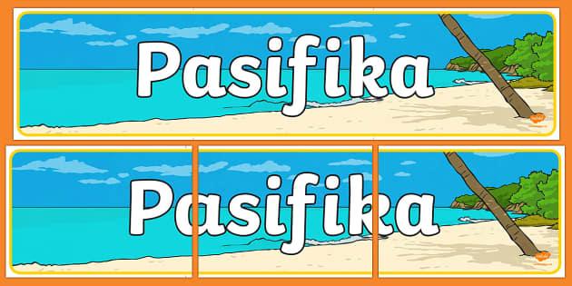 Pasifika Display Banner