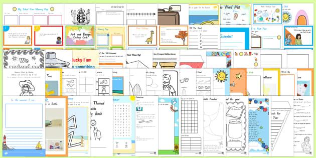 New Zealand Last Week of School Resource Pack- - New Zealand End of School Year,
