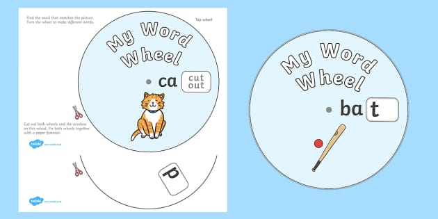 CVC Word Wheels Final Sounds - CVC word wheels initial sounds, CVC, word wheels, final sounds, sounds, final, words, wheels, consonant vowel consonant, vowels, consonant, Phoncs, Digraph, word wheel, DfES Letters and Sounds, Letters and Sounds, words
