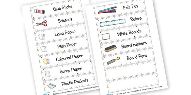 Drawer Labels 2 - Drawer & Peg Name Labels Primary Resources, Name Label, Label, Peg