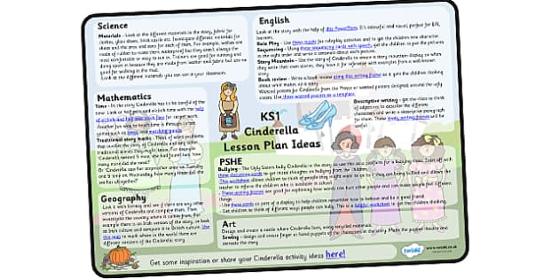 Cinderella Lesson Plan Ideas KS1 - cinderella, lesson, plan, lesson plan, ideas, lesson ideas, KS1, cinderella ideas, KS1 ideas, cinderella lesson