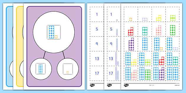 Number Facts to 20 Part Whole Activity - number facts, 20, part, whole, activity
