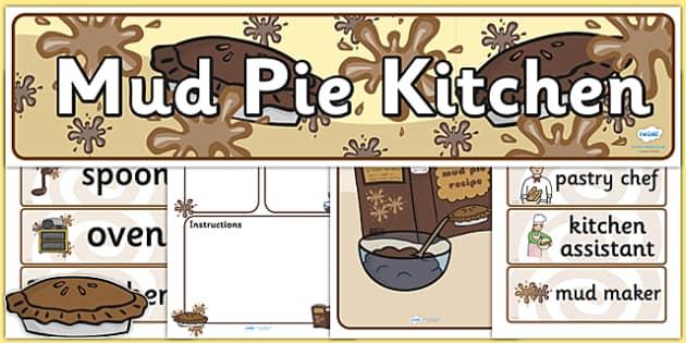 Mud Pie Kitchen Pack - mud pie, kitchen, mud pie kitchen, pack