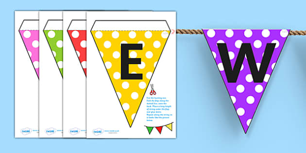 Welcome to Our Class Display Bunting - welcome, bunting, display
