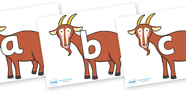 Phoneme Set on Hullabaloo Goat to Support Teaching on Farmyard Hullabaloo - Phoneme set, phonemes, phoneme, Letters and Sounds, DfES, display, Phase 1, Phase 2, Phase 3, Phase 5, Foundation, Literacy
