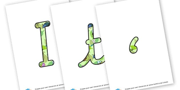 It's A Bugs Life - Display Lettering - Minibeasts Display Primary Resources, minibeast, bugs, life cycles