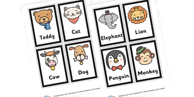 Animals - Animals Classroom Signs and Labels Primary Resources,  Labels