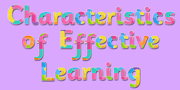 Characteristics of Effective Learning Display Lettering - display, lettering