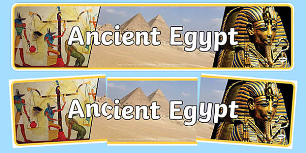 Ancient Egypt Photo Display Banner - ancient egypt, photo display banner, display banner, banner, photo banner, header, display header, photo header