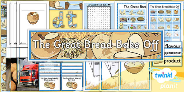 PlanIt DT KS2 The Great Bread Bake Off Unit Additional Resources