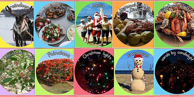 Christmas Display Photo Cut Outs - displays, visual, visuals