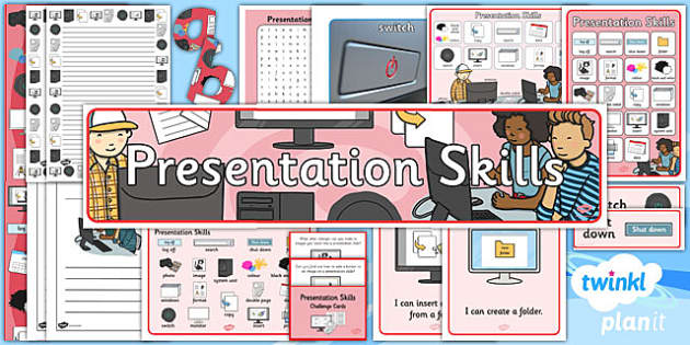 PowerPoint Presentation Skills: Additional Resources - Year 2 Computing Lesson Pack