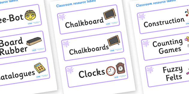 Lilac Themed Editable Additional Classroom Resource Labels - Themed Label template, Resource Label, Name Labels, Editable Labels, Drawer Labels, KS1 Labels, Foundation Labels, Foundation Stage Labels, Teaching Labels, Resource Labels, Tray Labels, Pr
