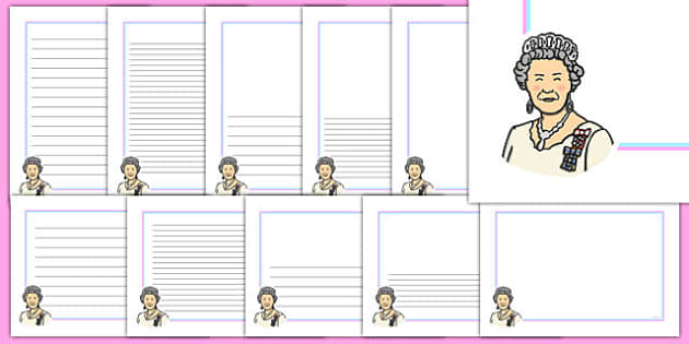 Queen Letter Writing Templates - queen, letter, writing, templates