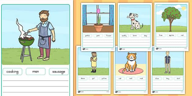 Simple Sentence Worksheets australia dyslexic writing SEN – Simple Sentence Worksheets