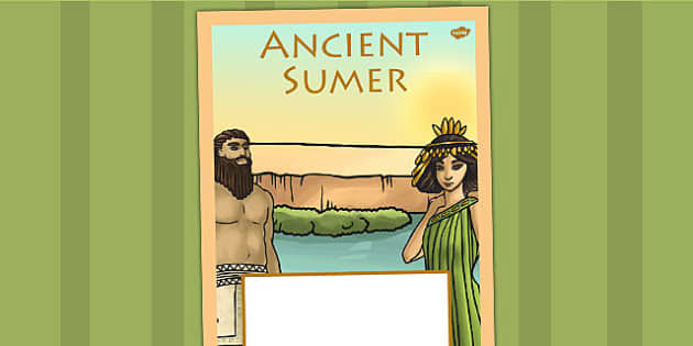 Ancient Sumer Book Cover - history, ks2, ancient sumer, sumer