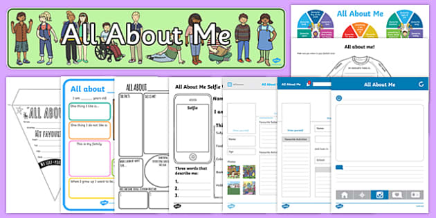 KS2 All About Me Top 10 Resource Pack