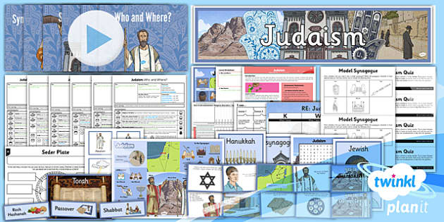 PlanIt - RE Year 3 - Judaism Unit Pack - planit, re, year 3, religious education, judaism, unit pack