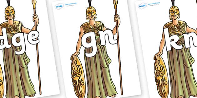 Silent Letters on Athena - Silent Letters, silent letter, letter blend, consonant, consonants, digraph, trigraph, A-Z letters, literacy, alphabet, letters, alternative sounds