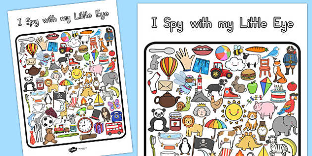I Spy With My Little Eye Activity - australia, I spy, activity