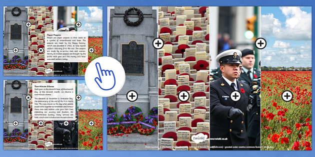 Remembrance Day KS2 Picture Hotspots