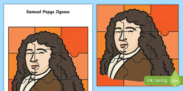 The Great Fire of London Samuel Pepys Jigsaw Activity