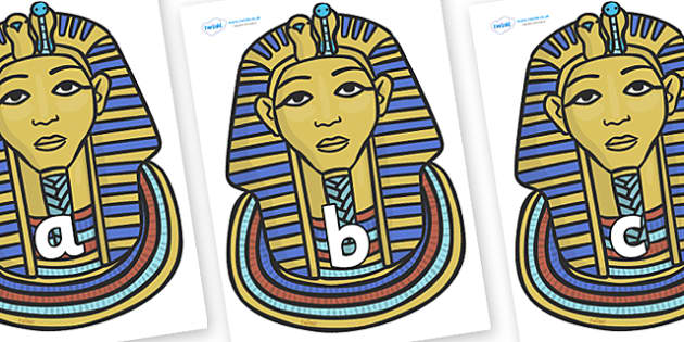 Phase 2 Phonemes on Tutankhamun - Phonemes, phoneme, Phase 2, Phase two, Foundation, Literacy, Letters and Sounds, DfES, display