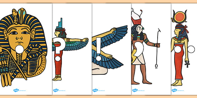 Punctuation on Egyptian Images - punctuation, egyptian, images, writing, topic, display