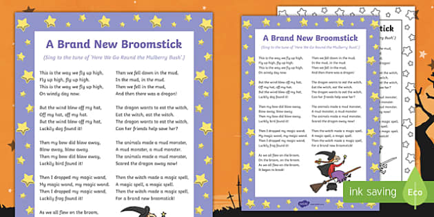 A Brand New Broomstick Song