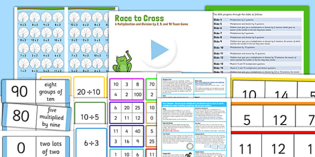 Year 2 Multiplication and Division Starter Ideas Pack - starter, pack