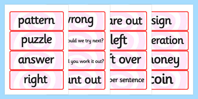 Maths Solving Problems Word Cards - maths solving problems, word cards, solving problems word cards, maths word cards, word cards, maths