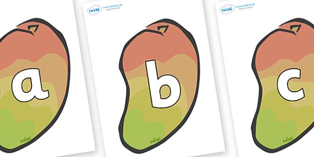 Phoneme Set on Mangoes - Phoneme set, phonemes, phoneme, Letters and Sounds, DfES, display, Phase 1, Phase 2, Phase 3, Phase 5, Foundation, Literacy