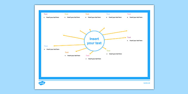 Topic Web Editable Blank - topic web, editable, blank, topic, web