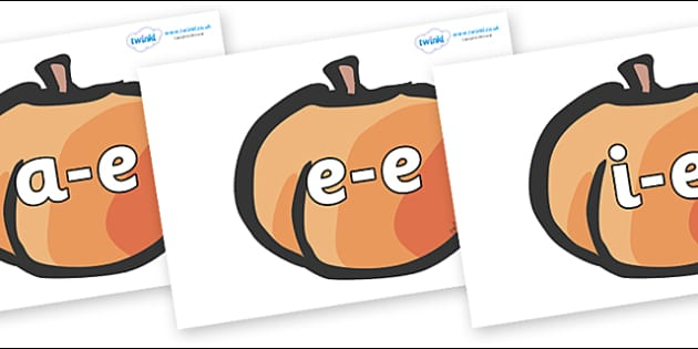 Modifying E Letters on Peaches - Modifying E, letters, modify, Phase 5, Phase five, alternative spellings for phonemes, DfES letters and Sounds