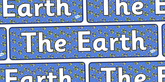 The Earth Display Banner - the earth, the earth banner, the earth display, space display, planet earth display, earth display, the planet earth banner