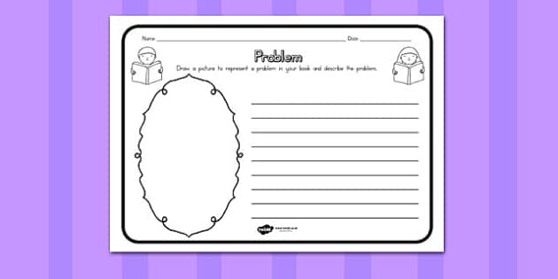 Problem Comprehension Worksheet - australia, comprehension, sheet