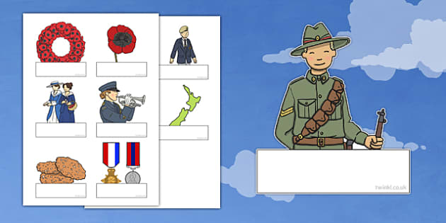 Anzac Day Themed Self-Registration - nz, new zealand, anzac day, self-registration