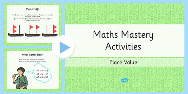 Year 2 Maths Mastery Place Value PowerPoint