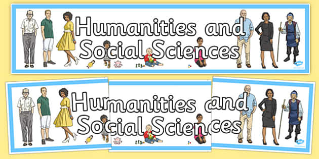 Humanities and Social Sciences Banner - australia, humanities, social sciences, display banner, display, banner