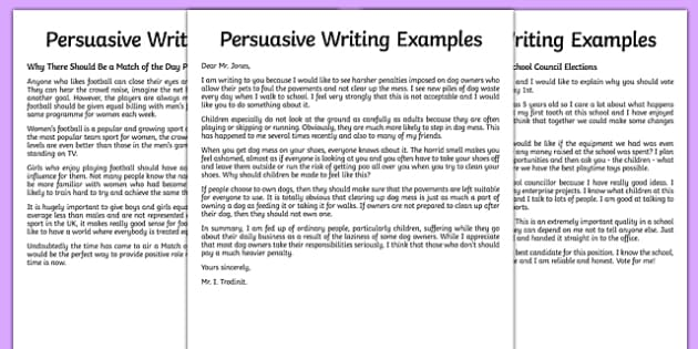 effective persuasive writing