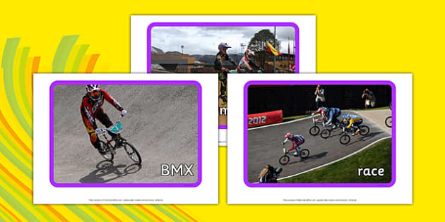 The Olympics BMX Display Photos - the olympics, rio olympics, 2016 olympics, rio 2016, bmx, display photos