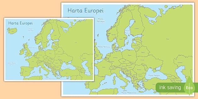 Harta Europei