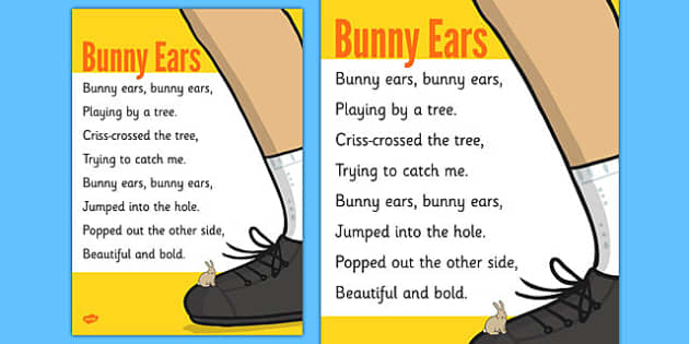 Tying Shoelaces Poem Poster - tying, shoelaces, poem, poster